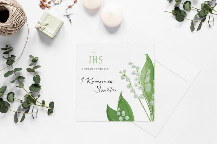 zaproszenia-na-komunie-kwadratowe-z-kwiatami-wzor-14-papier-matowy-koperta-k4-szara