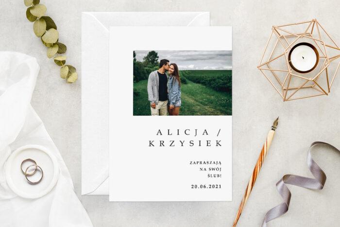zaproszenie-slubne-ze-zdjeciem-minimalistyczne-wzor-11-papier-matowy-koperta-bez-koperty