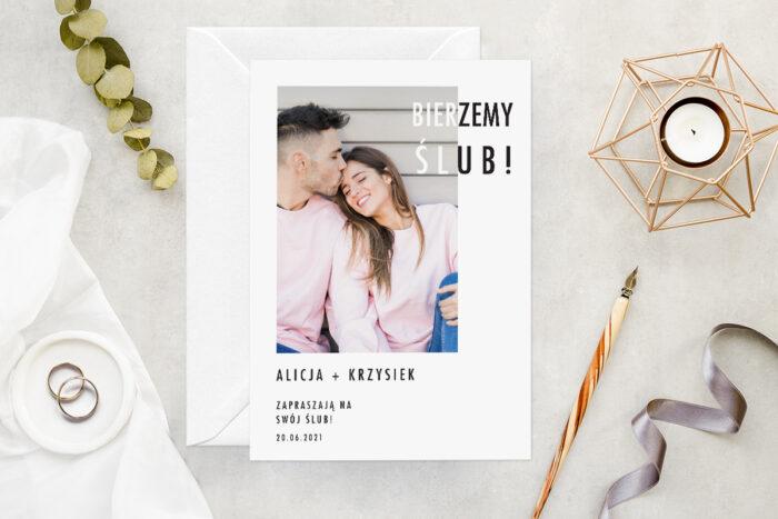 zaproszenie-slubne-ze-zdjeciem-minimalistyczne-wzor-14-papier-matowy-koperta-bez-koperty