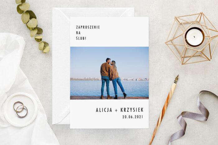 zaproszenie-slubne-ze-zdjeciem-minimalistyczne-wzor-7-papier-matowy-koperta-bez-koperty
