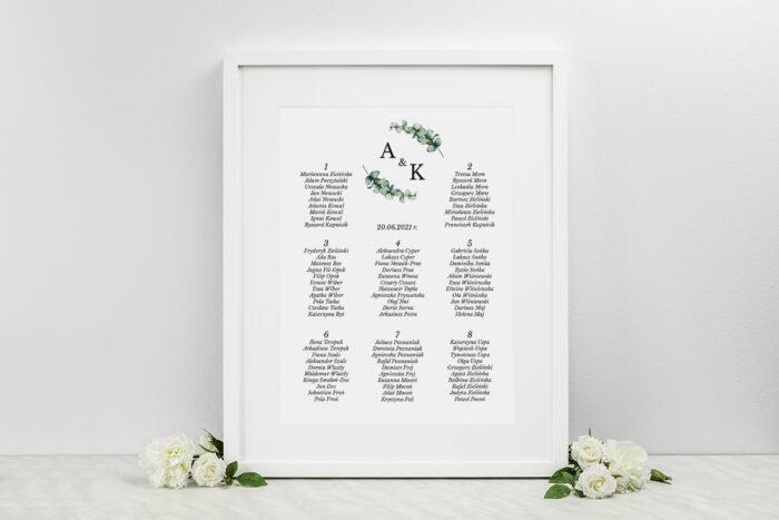 plan-stolow-weselnych-do-zaproszenia-jednokartkowe-recyklingowe-galazki-eukaliptusa-dodatki-ramka-papier-matowy