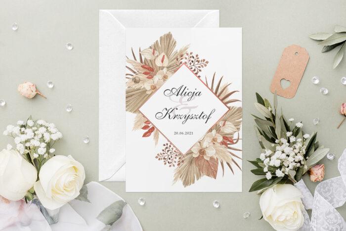 zaproszenie-slubne-geometryczne-kwiaty-wzor-12-papier-satynowany-koperta-c6-biala-bez-wklejki-gratis