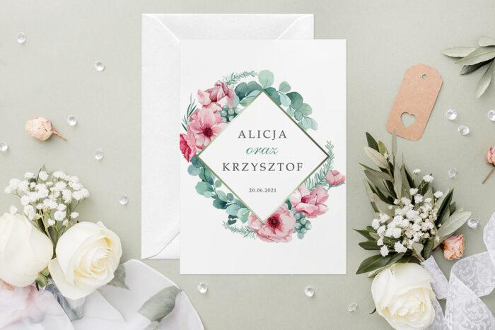 zaproszenie-slubne-geometryczne-kwiaty-wzor-5-papier-satynowany-koperta-c6-biala-bez-wklejki-gratis