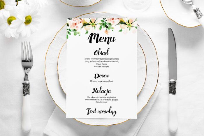 menu-weselne-biala-magnolia-papier-satynowany