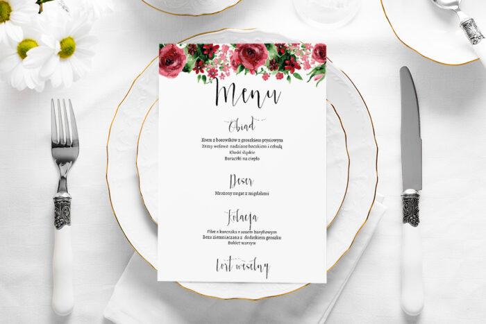 menu-weselne-burgundowe-roze-papier-satynowany