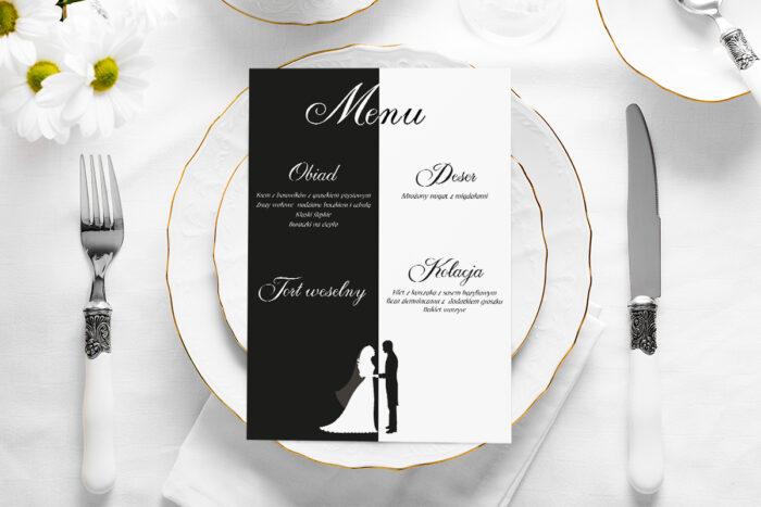 menu-weselne-blackwhite-wzor-2-2-papier-satynowany