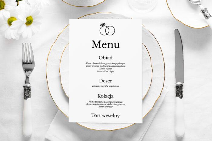 menu-weselne-zlote-obraczki-papier-satynowany
