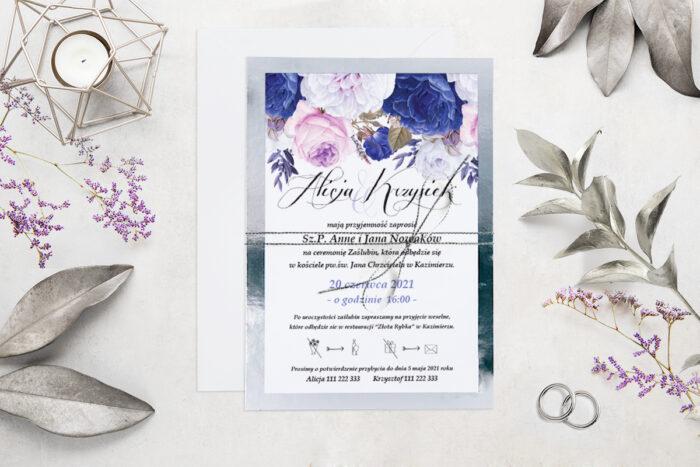 eleganckie-zaproszenie-slubne-kwiatysrebro-wzor-3-podkladki-podkladka-srebrna-b6-papier-matowy-350g-koperta-b6-szara-bez-wklejki-dodatki-sznurek-zloty-metalizowany