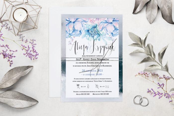 eleganckie-zaproszenie-slubne-kwiatysrebro-wzor-6-podkladki-podkladka-srebrna-b6-papier-matowy-350g-koperta-b6-szara-bez-wklejki-dodatki-sznurek-zloty-metalizowany