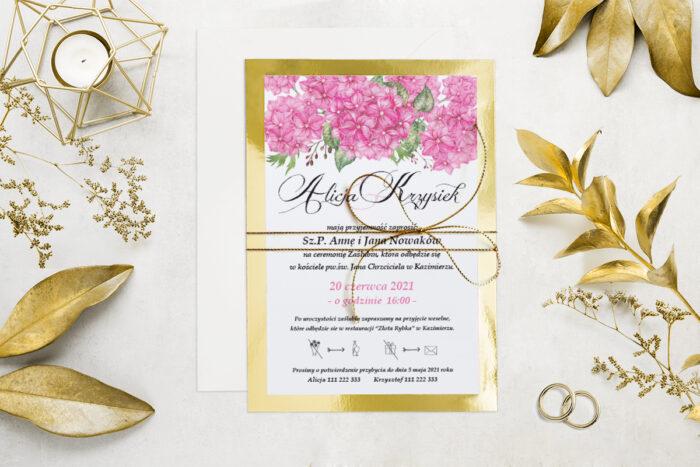 eleganckie-zaproszenie-slubne-kwiatyzloto-wzor-4-podkladki-podkladka-srebrna-b6-papier-matowy-350g-koperta-b6-szara-bez-wklejki-dodatki-sznurek-zloty-metalizowany
