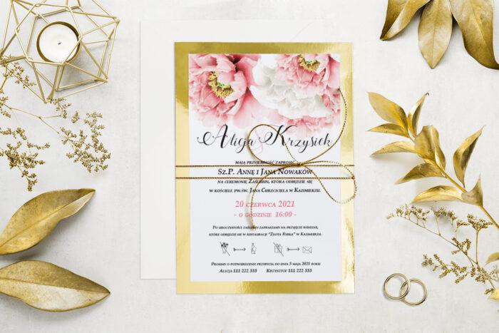 eleganckie-zaproszenie-slubne-kwiatyzloto-wzor-7-podkladki-podkladka-srebrna-b6-papier-matowy-350g-koperta-b6-szara-bez-wklejki-dodatki-sznurek-zloty-metalizowany
