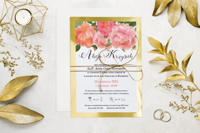 eleganckie-zaproszenie-slubne-kwiatyzloto-wzor-9-podkladki-podkladka-srebrna-b6-papier-matowy-350g-koperta-b6-szara-bez-wklejki-dodatki-sznurek-zloty-metalizowany