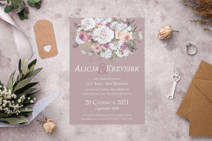 zaproszenie-slubne-kolorowe-bukiety-wzor-8-papier-matowy-koperta-bez-koperty
