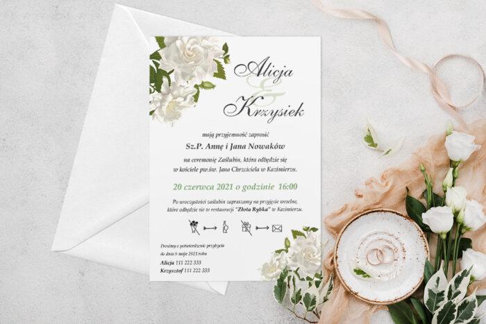 zaproszenie-slubne-jednokartkowe-biale-roze-2-papier-matowy-koperta-bez-koperty