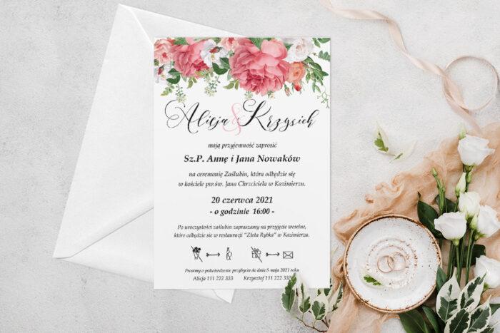 zaproszenie-slubne-jednokartkowe-koralowe-roze-papier-matowy-koperta-bez-koperty
