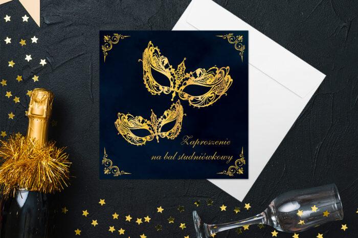 eleganckie-zaproszenie-na-studniowke-niech-zyje-bal-papier-matowy-koperta-bez-koperty