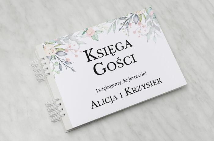 ksiega-gosci-slubnych-do-zaproszenia-jednokartkowe-recyklingowe-roz-i-fiolet-papier-ecru-recyklingowy-dodatki-ksiega-gosci