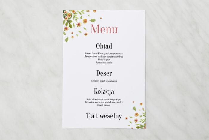 menu-weselne-do-zaproszenia-jednokartkowe-recyklingowe-rozrzucone-kwiaty-papier-matowy