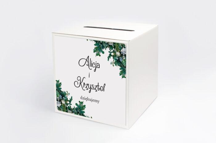 personalizowane-pudelko-na-koperty-ze-zdjeciem-i-sznurkiem-zielone-sukulenty-papier-satynowany-pudelko-