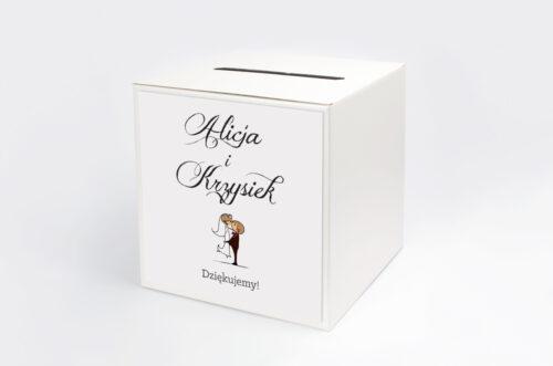 Personalizowane pudełko na koperty - Lolki w objęciach
