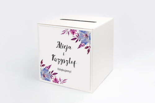 Pudełko na koperty Jednokartkowe Recyklingowe - Chabry