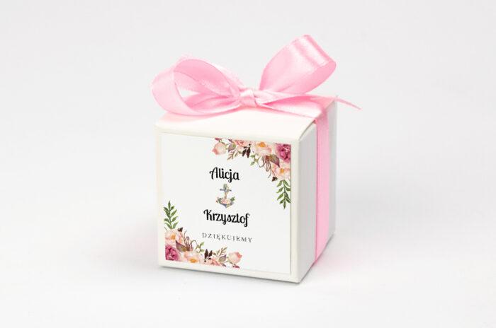 pudeleczko-z-personalizacja-kwiaty-z-kotwica-kokardka--krowki-bez-krowek-papier--pudelko-na-krowki