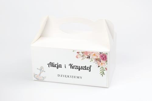 pudelko-na-ciasto-kwiaty-z-kotwicą