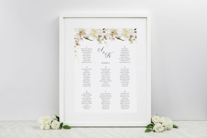 plan-stolow-weselnych-do-zaproszenia-jednokartkowe-recyklingowe-eleganckie-lilie-dodatki-ramka-papier-matowy