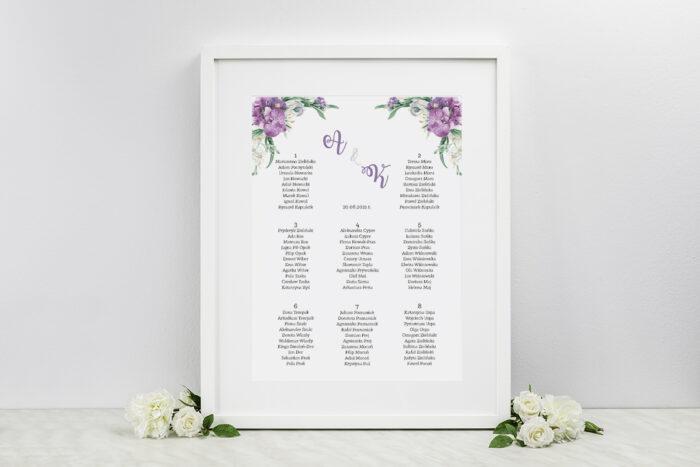 plan-stolow-weselnych-do-zaproszenia-jednokartkowe-recyklingowe-fioletowy-bukiet-dodatki-ramka-papier-matowy