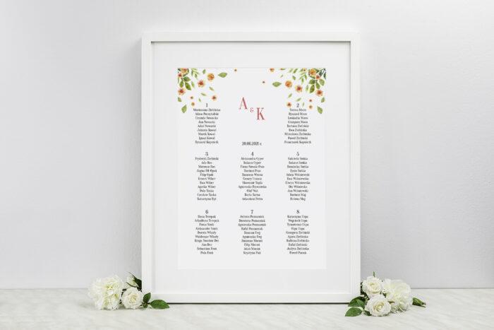 plan-stolow-weselnych-do-zaproszenia-jednokartkowe-recyklingowe-rozrzucone-kwiaty-dodatki-ramka-papier-matowy