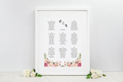tablica-kwiaty-z-kotwicą