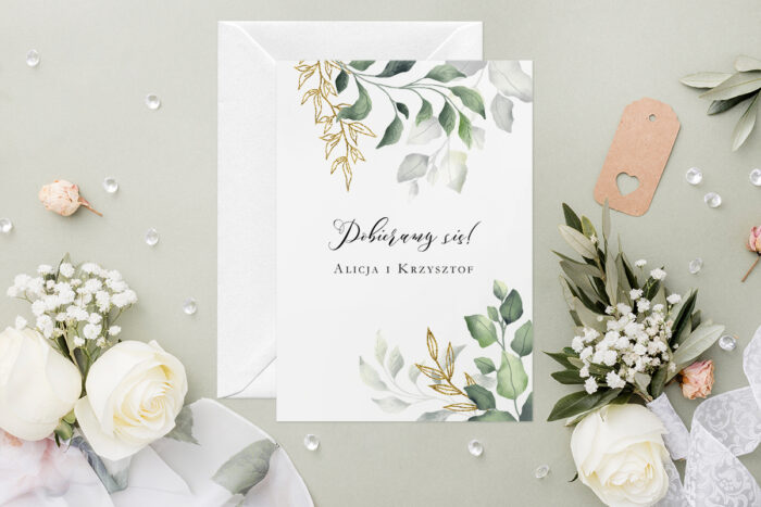 rustykalne-zaproszenie-slubne-botaniczne-galazki-ze-zlotem-papier-satynowany