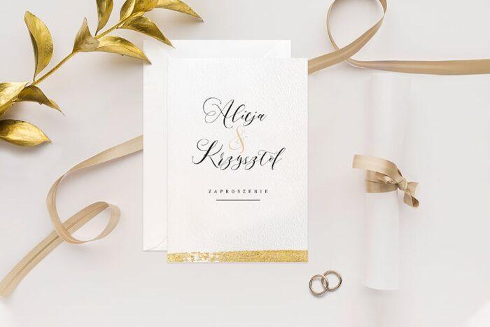 zaproszenie-slubne-minimalistyczne-ze-zlotem-wzor-2-papier-matowy-350g