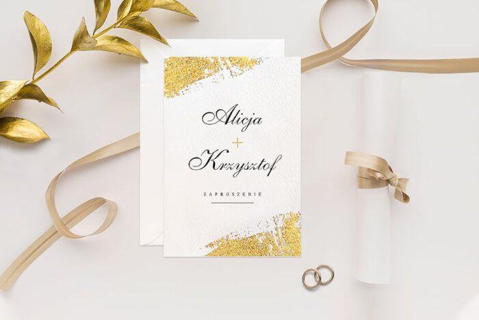 zaproszenie-slubne-minimalistyczne-ze-zlotem-wzor-4-papier-matowy-350g