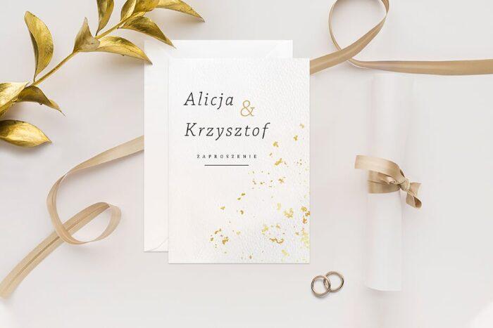 zaproszenie-slubne-minimalistyczne-ze-zlotem-wzor-8-papier-matowy-350g