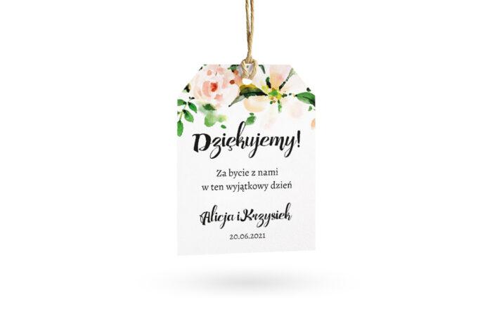 etykietka biała biała magnolia