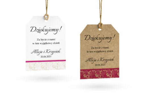 Etykietki-ornament-z-koronka-fuksja-wzor-1-set