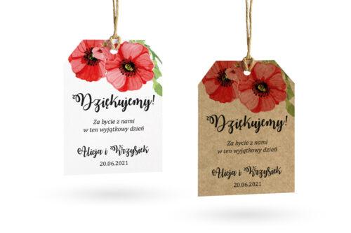 Etykietki-rustykalne-kwiaty-maki-set