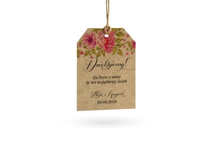 etykietka eco w róże