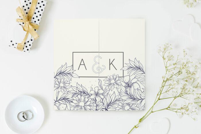 eleganckie-zaproszenie-slubne-z-nawami-delikatne-kwiaty-wzor-15-papier-matowy-koperta-bez-koperty