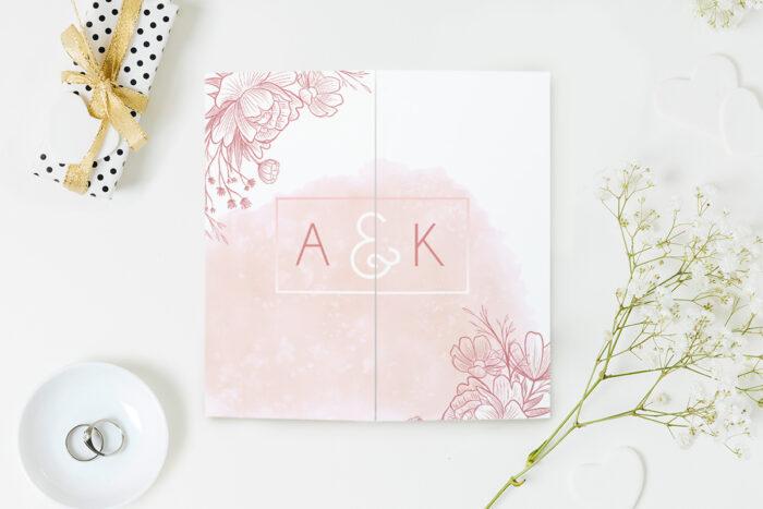 eleganckie-zaproszenie-slubne-z-nawami-delikatne-kwiaty-wzor-5-papier-matowy-koperta-bez-koperty