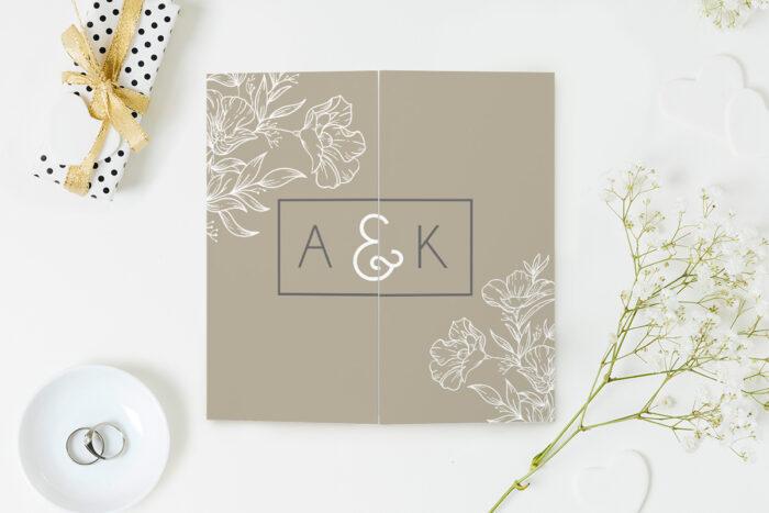 eleganckie-zaproszenie-slubne-z-nawami-delikatne-kwiaty-wzor-8-papier-matowy-koperta-bez-koperty