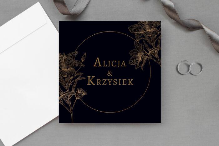eleganckie-zaproszenie-slubne-czarno-biale-wzor-1-papier-matowy-koperta-bez-koperty