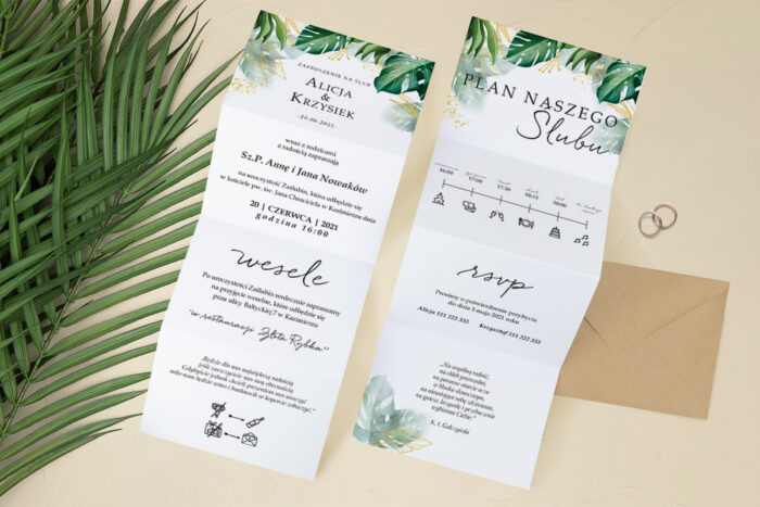 zaproszenie-slubne-harmonijka-tropikalne-kwiaty-wzor-10-papier-satynowany-koperta-c6-eco-bez-wklejki