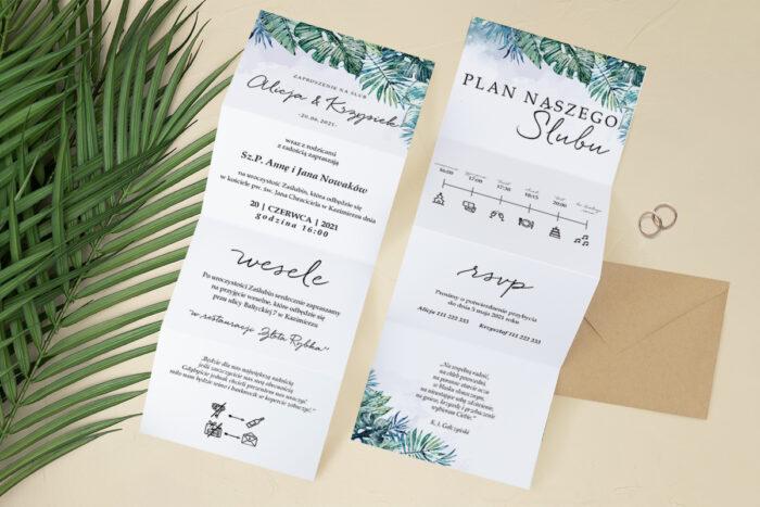 zaproszenie-slubne-harmonijka-tropikalne-kwiaty-wzor-2-papier-satynowany-koperta-c6-eco-bez-wklejki