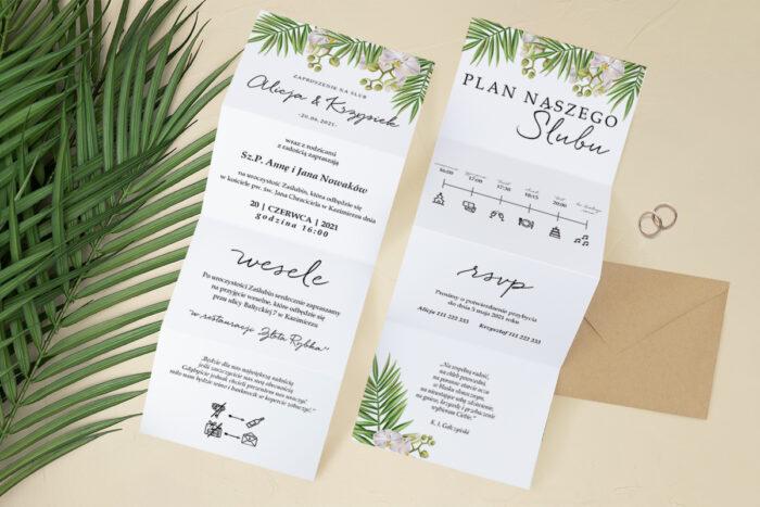 zaproszenie-slubne-harmonijka-tropikalne-kwiaty-wzor-3-papier-satynowany-koperta-c6-eco-bez-wklejki