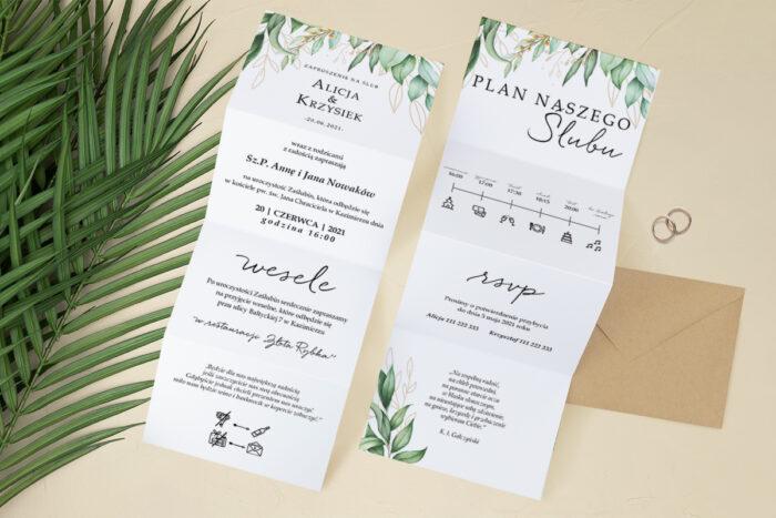 zaproszenie-slubne-harmonijka-tropikalne-kwiaty-wzor-8-papier-satynowany-koperta-c6-eco-bez-wklejki