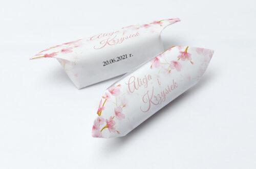 Krówki ślubne 1 kg Zdjęcie&Kalendarz w folderze – Kwiaty jabłoni