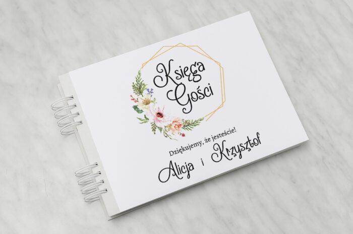 ksiega-gosci-do-zaproszenia-ze-zdjeciem-i-sznurkiem-sloneczne-kwiaty-papier-matowy-dodatki-ksiega-gosci