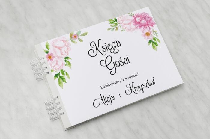 ksiega-gosci-do-zaproszenia-ze-zdjeciem-i-sznurkiem-pastelowe-kwiaty-w-rozu-papier-matowy-dodatki-ksiega-gosci